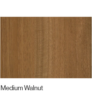 Matt Wood Grain Medium Walnut
