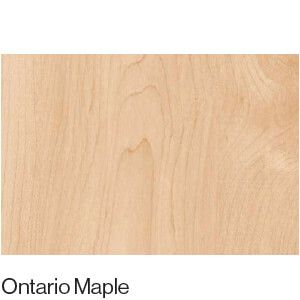Matt Wood Grain Ontario Maple