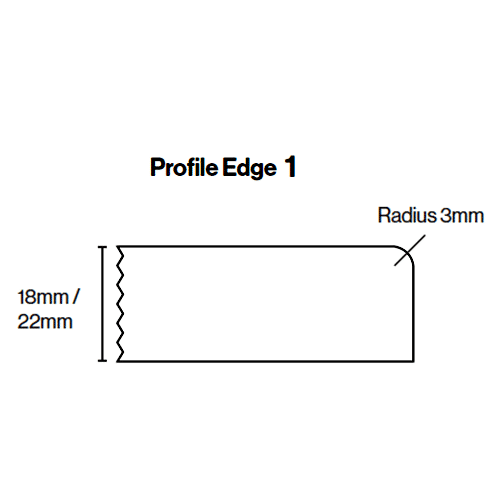Kitchen Door Profile Edge 1