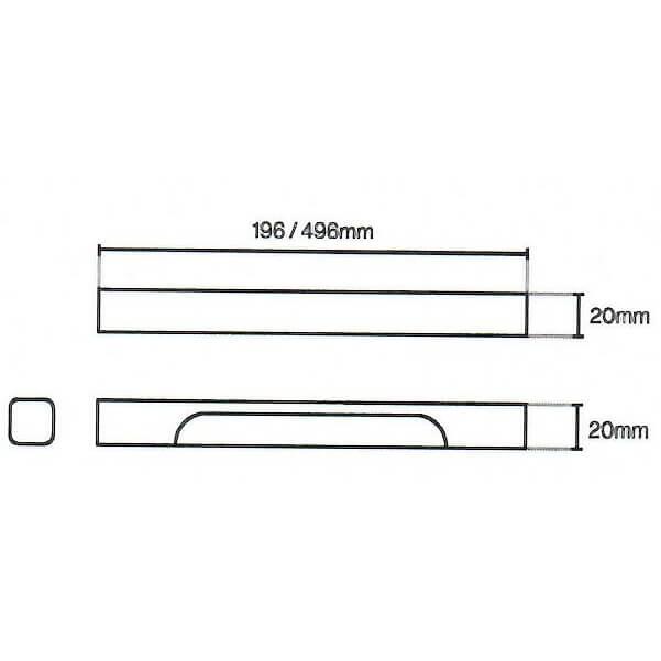Beam Kitchen Door Handle Diagram