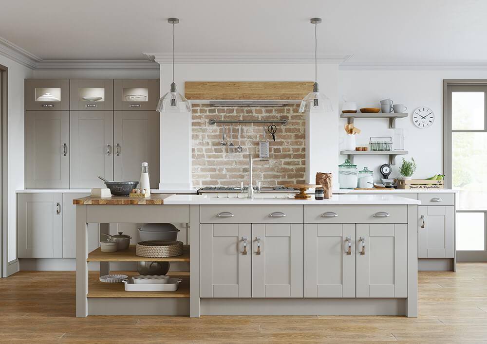 Conway Kitchen Serica Pebble