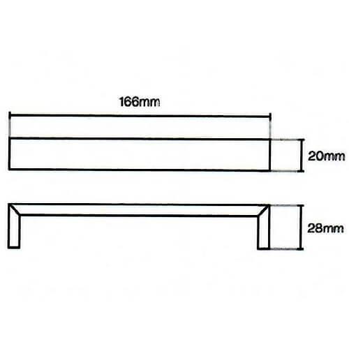 Flat d handle diagram