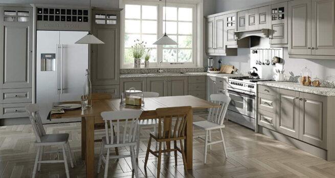 Gibson Kitchen in Stone Grey