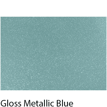 High Gloss Vivid Metallic Blue