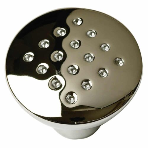 Chrome Dimple Door Knob 049