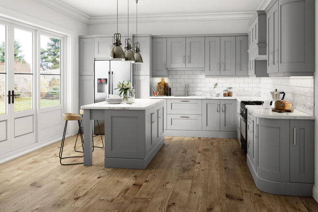 Hillwell Kitchen Serica Light Grey
