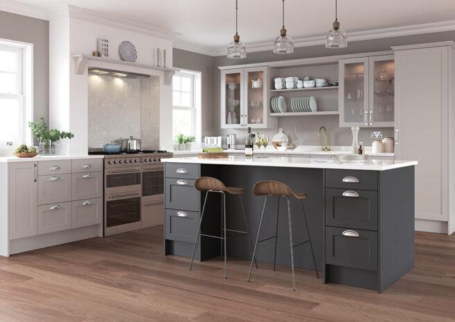 Horton Kitchen Serica Light Grey