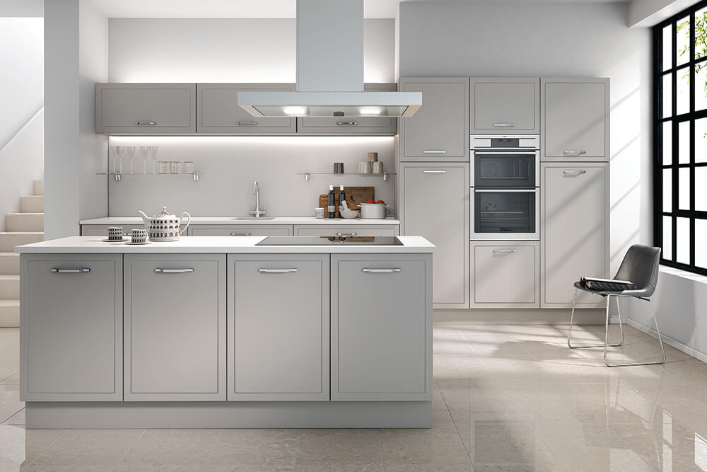 Jones Kitchen Serica Light Grey