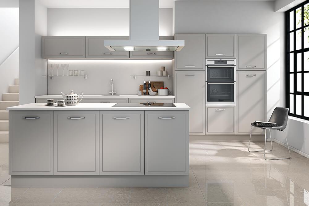 Jones Kitchen Serica Light Grey