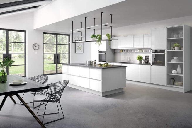 Kassel Kitchen Gloss White
