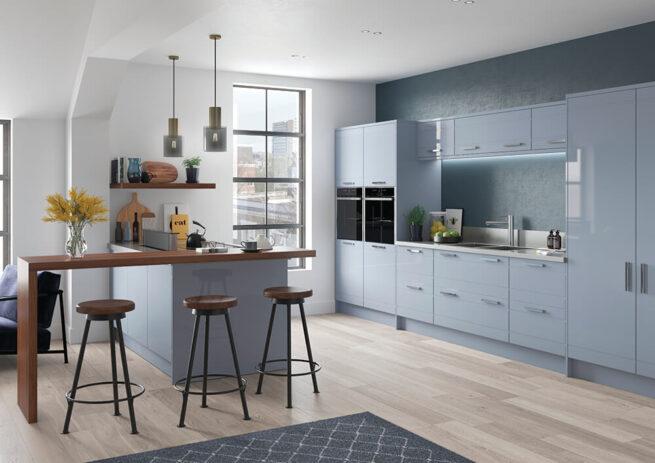 Kitchen Marino Gloss Denim