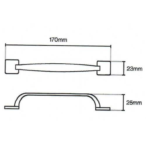Levi d kitchen door handle diagram