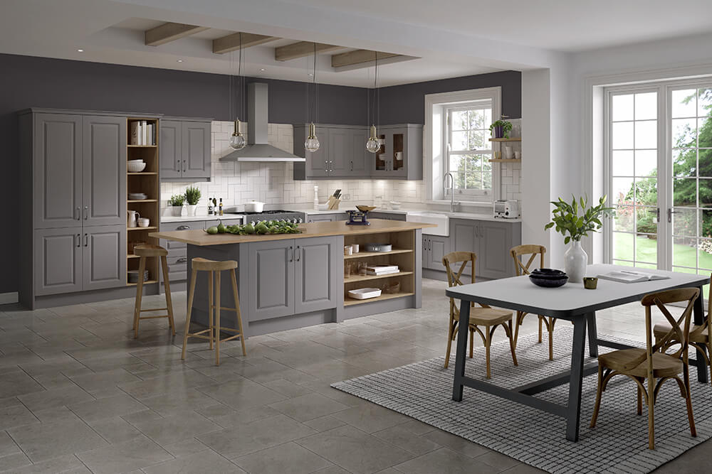 Lincoln Serica Dust Grey Kitchen