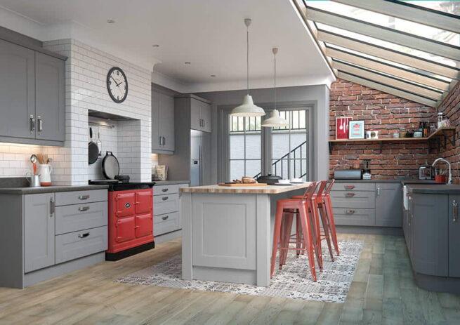 Mason Kitchen Serica Dust Grey