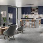 Mason Kitchen S1 Serica Marine Blue Light Grey