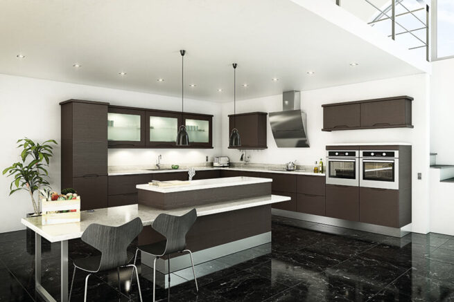 Neptune Kitchen S1 Legno Graphite