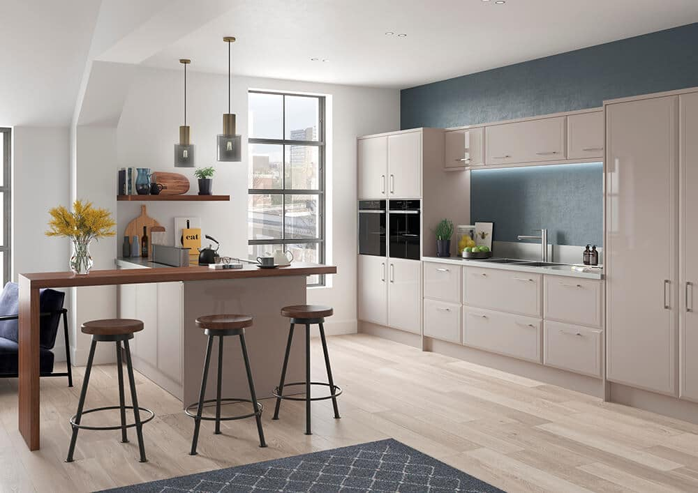 Oslo High Gloss Kashmir Kitchen