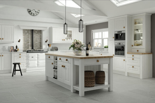 Replacement Kitchen Amalfi Legno White