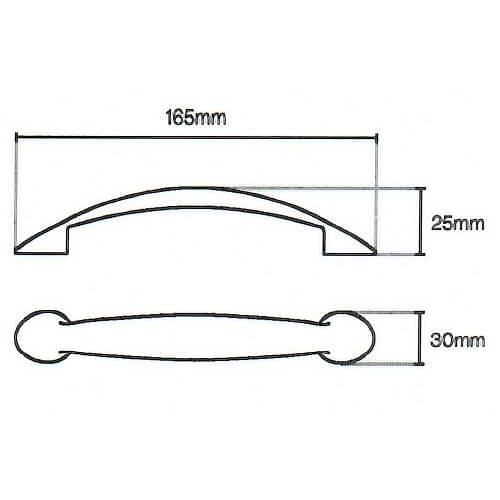 Roundel d kitchen handle diagram