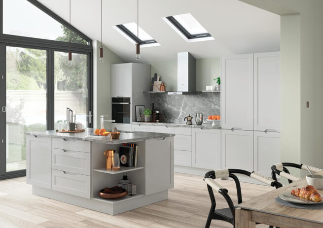 Shepford Kitchen Light Grey