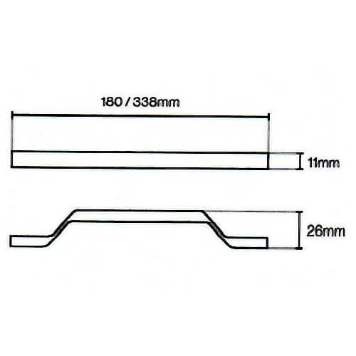 Soho Strap Handle Diagram