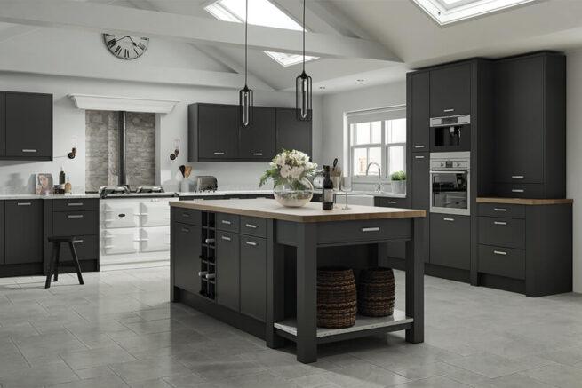 Vilo Kitchen Serica Graphite