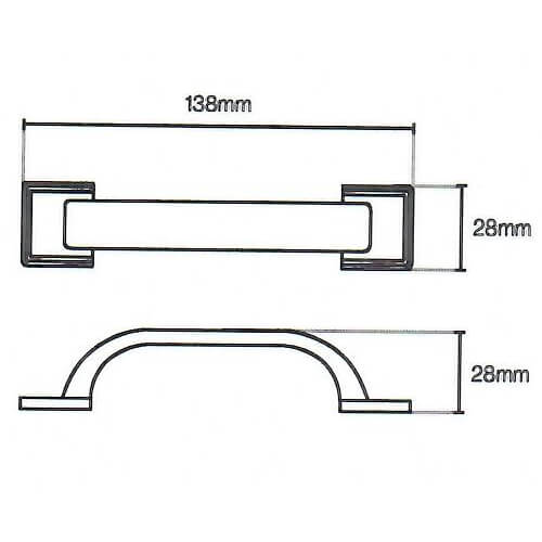 Windsor d door handle diagram