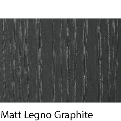 Matt Grain Textured Legno Graphite