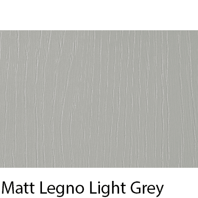 Matt Grain Textured Legno Light Grey