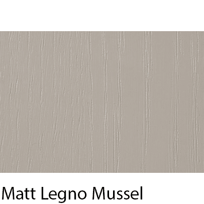 Matt Grain Textured Legno Mussel