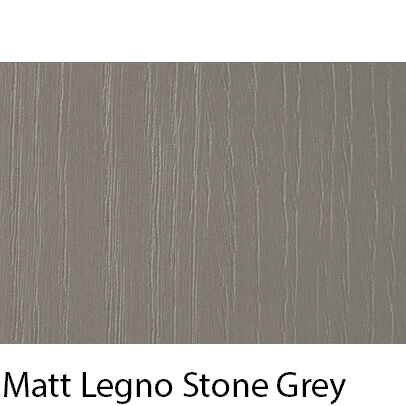 Matt Grain Textured Legno Stone Grey