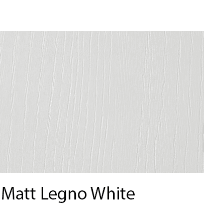 Matt Grain Textured Legno White