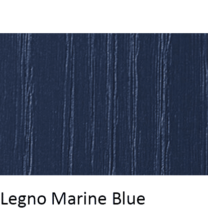 Matt Grain Textured Legno Marine Blue