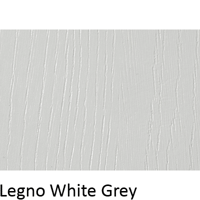 Matt Grain Textured Legno White Grey