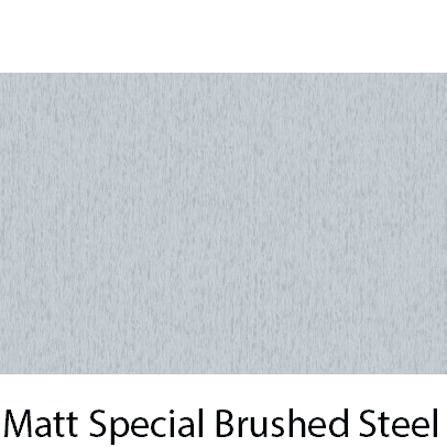 Matt Material Brushed Steel
