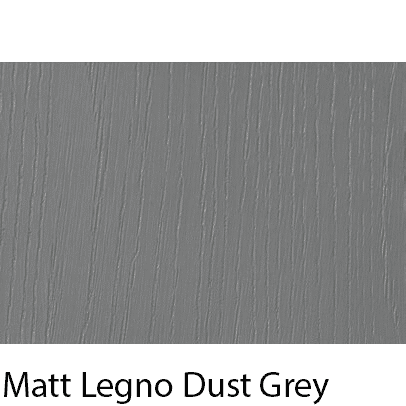 Matt Grain Textured Legno Dust Grey