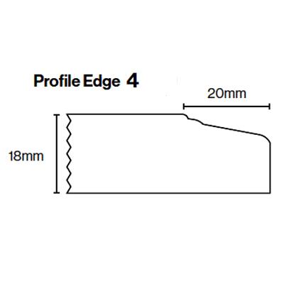 Kitchen Door Profile Edge 4