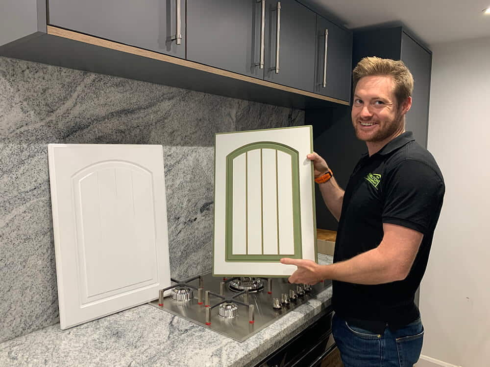 Replacement Paintable Kitchen Doors and Grant