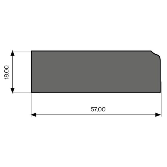 Tangent Pelmet Diagram