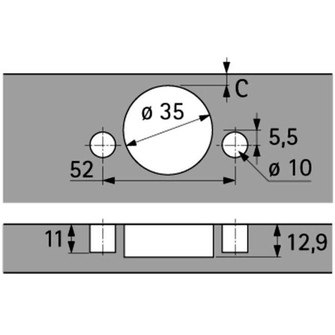 Hettich 9073608 Diagram