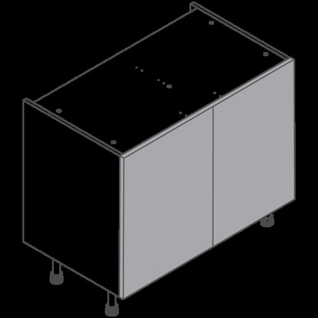 H720 W1000 Clicbox Kitchen Cabinet Base Unit
