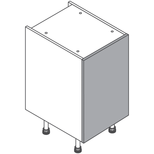 H720 W450 Clicbox Kitchen Cabinet Base Unit