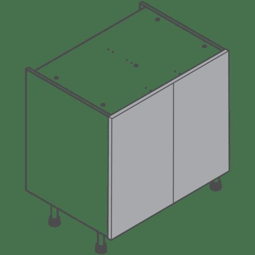 H720 W800 Clicbox Kitchen Cabinet Base Unit