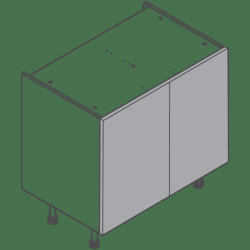 H720 W900 Clicbox Kitchen Cabinet Base Unit