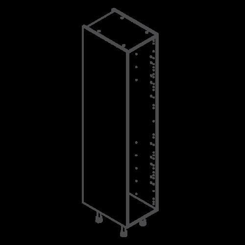 ClicBox Tall Kitchen Cabinet Unit 2120 x 400mm