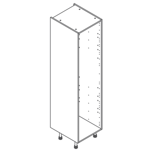 ClicBox Tall Kitchen Cabinet Unit 2120 x 500mm