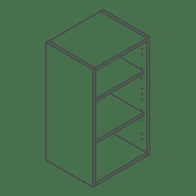 Clicbox 720 x 400 Wall Kitchen Unit