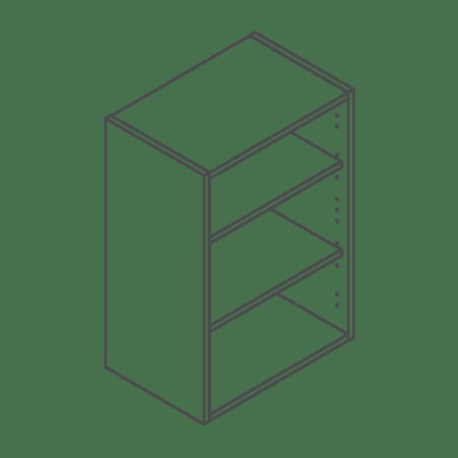ClicBox 720 x 500 Wall Kitchen Unit