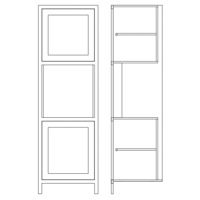 TSAH680 Single Aperture Appliance Housing Cabinet