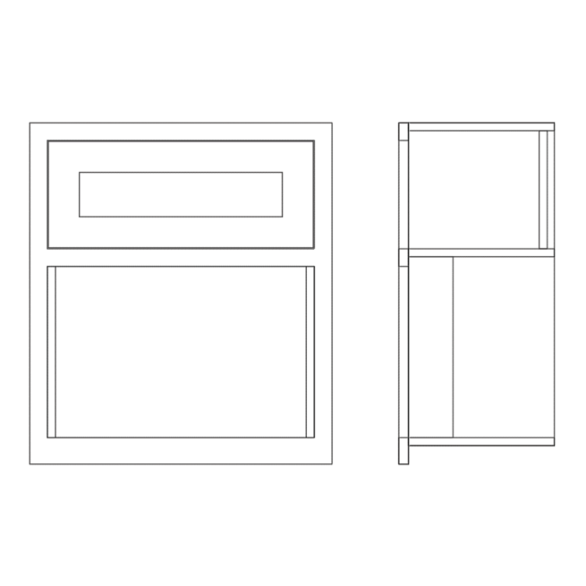 Wall Microwave Housing Cabinet